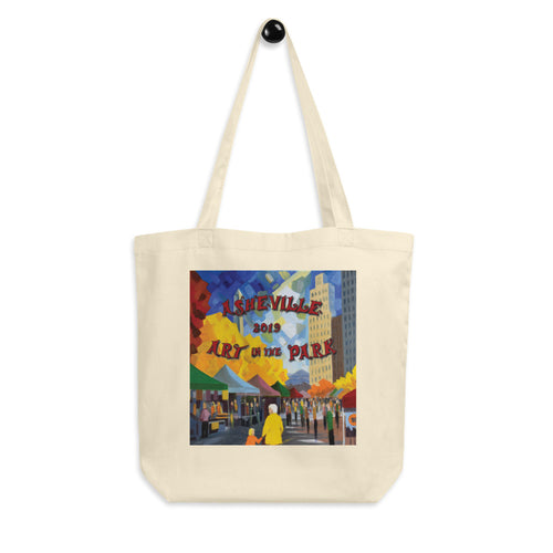 2019 Asheville Art in the Park Eco Tote Bag