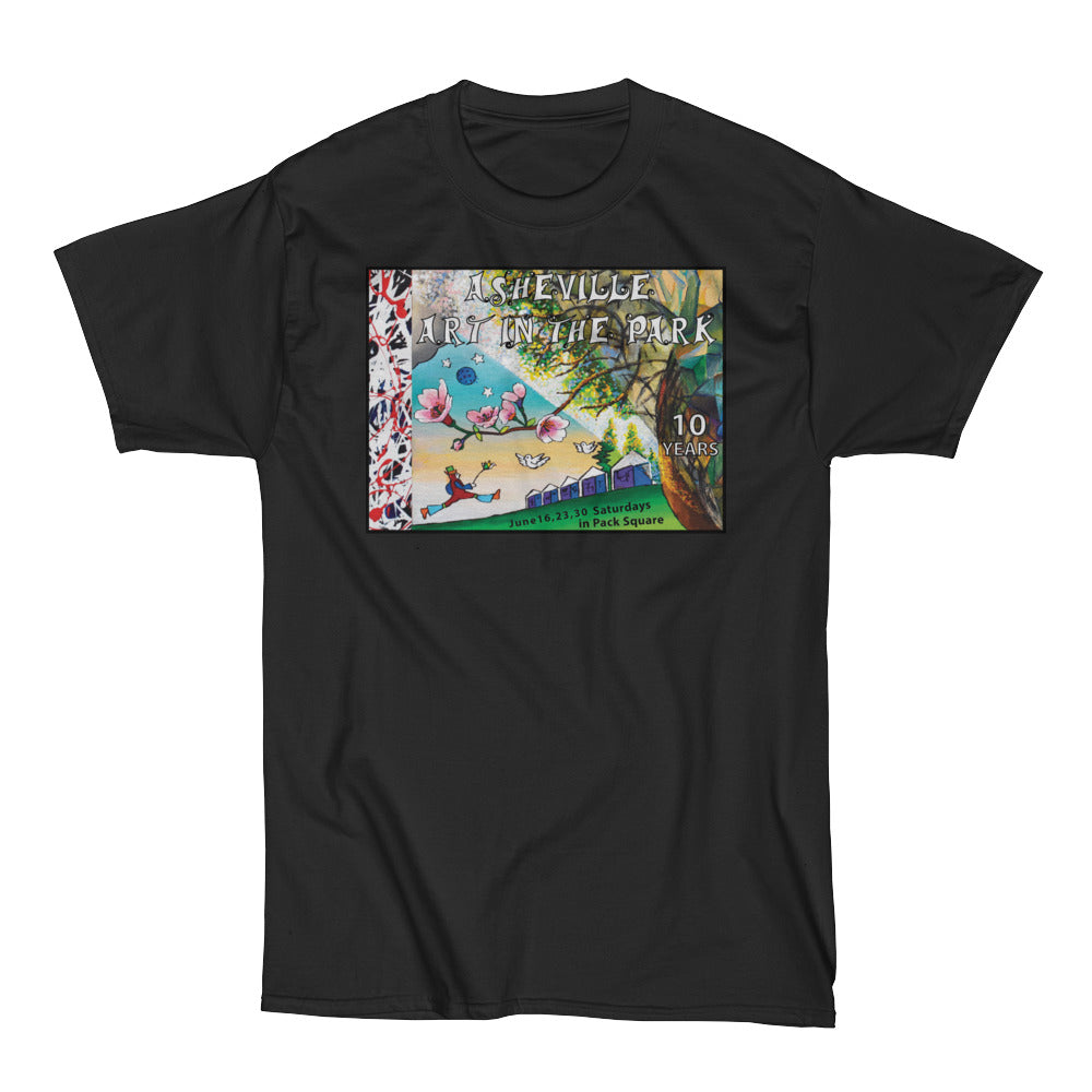Heavy Asheville Art in the Park 2018 Men's Short Sleeve T-Shirt