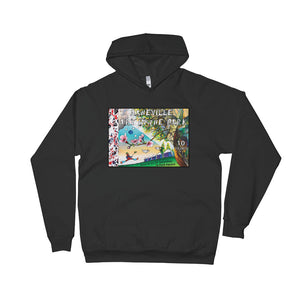 2018 Asheville Art in the Park Unisex Fleece Hoodie