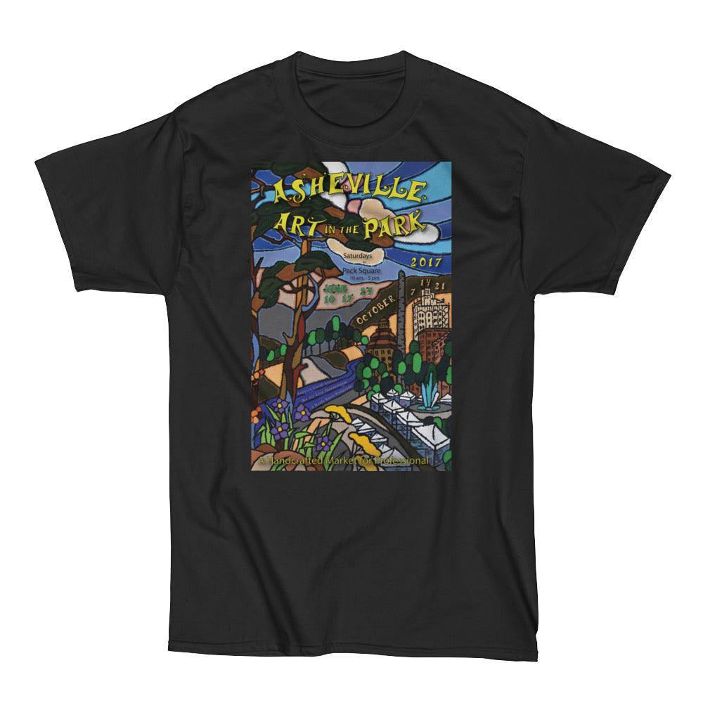 Heavy Asheville Art in the Park 2017 Men's Short Sleeve T-Shirt