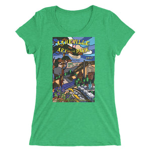 Green Ladies' short sleeve t-shirt