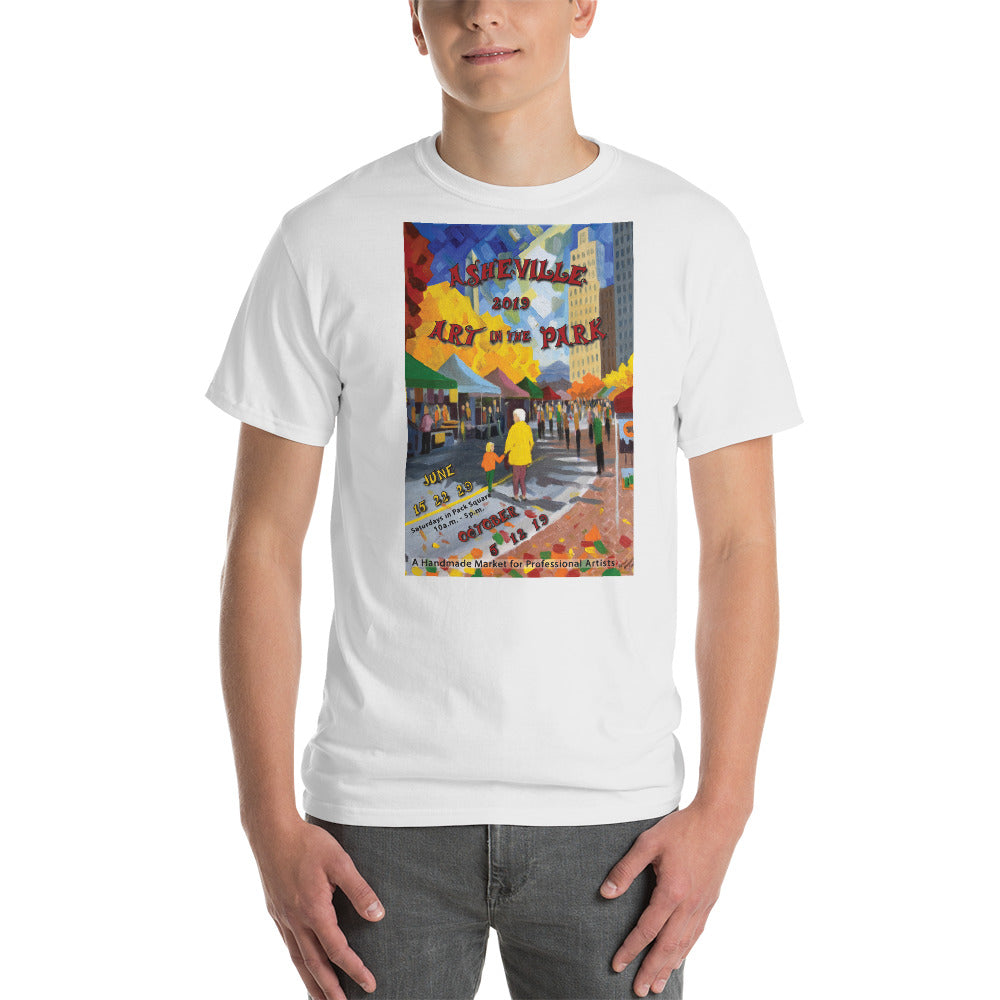 2019 Asheville Art in the park  Short-Sleeve T-Shirt