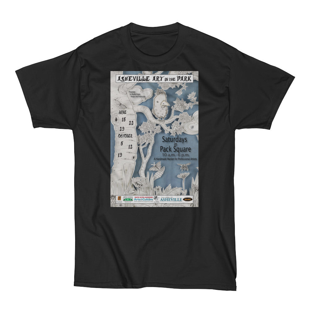 Heavy Men's Asheville Art in the Park 2013 Short Sleeve T-Shirt
