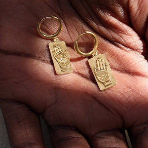 BALANCE GOLD EARRINGS