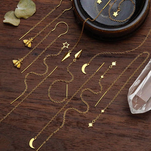 GOLD PENDULUM THREADERS