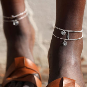 TRIBAL FEATHER ANKLET - RETREALM