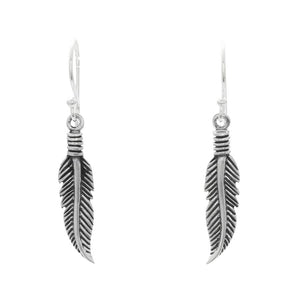 FEATHER EARRINGS - RETREALM