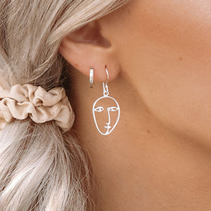 PICASSO FACE EARRINGS - RETREALM