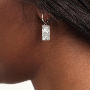 BALANCE STIRLING SILVER EARRINGS