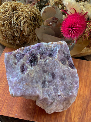 AMETHYST CHEVRON ROUGH CHUNK LARGE (773g)