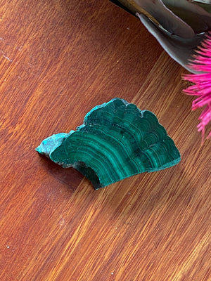 MALACHITE RAW CRYSTAL CHUNK (48g)