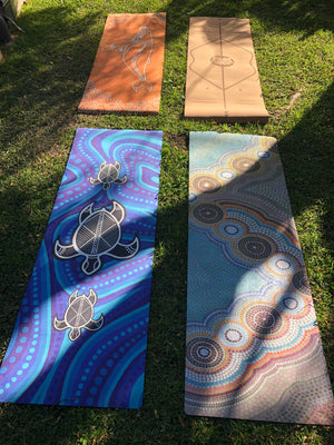 ECO-FRIENDLY YOGA MAT, TURTLE SERENITY - RETREALM