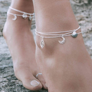 MANDALA MOON ANKLET - RETREALM