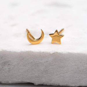 GOLD GALAXY STUDS - RETREALM