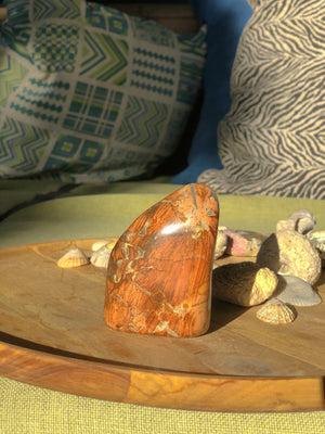 JASPER BRECIATED FREEFORM CRYSTAL - RETREALM