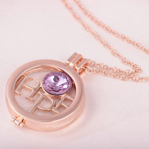 Locket Essential Oil Diffuser Necklace And Fragrance Pad