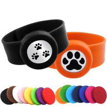 Load image into Gallery viewer, Kids Mosquito Repellent Essential Oil Diffuser Bracelet