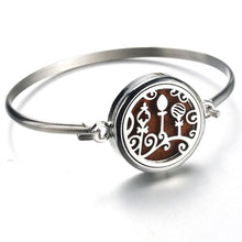 Load image into Gallery viewer, Perfume Essential Oil Diffuser Stainless Steel Bangle