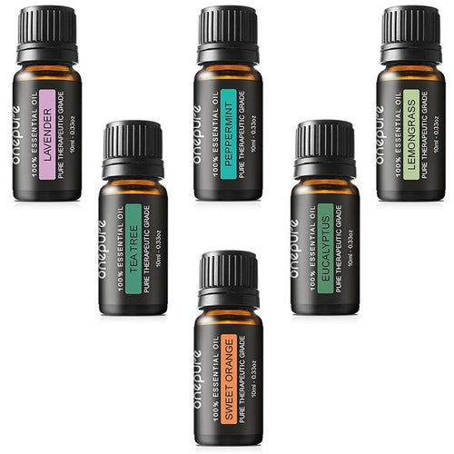 Onepure Set of 6 Aromatherapy Essential Oils