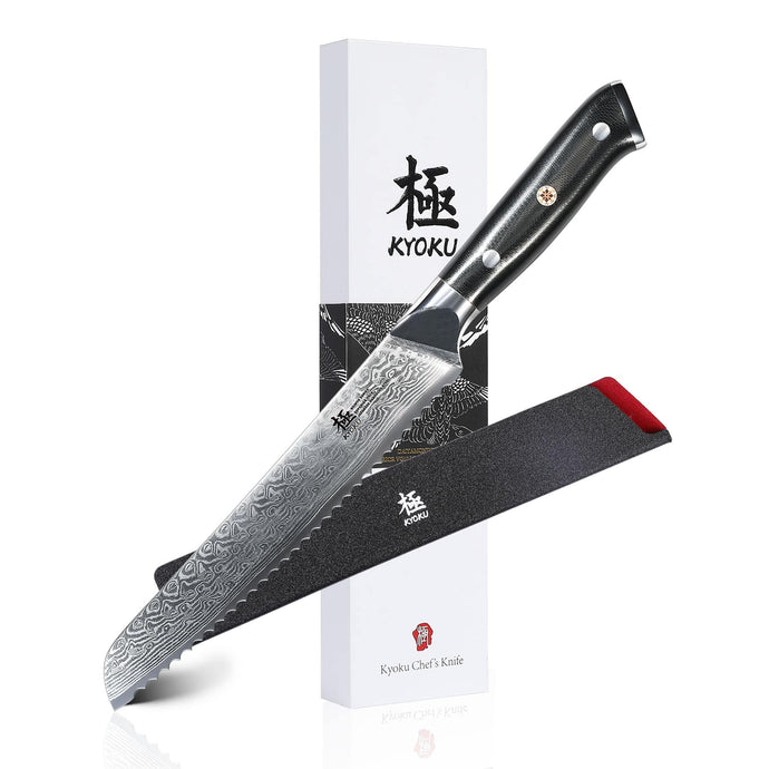 Japanese Bread Knife by Kyoku