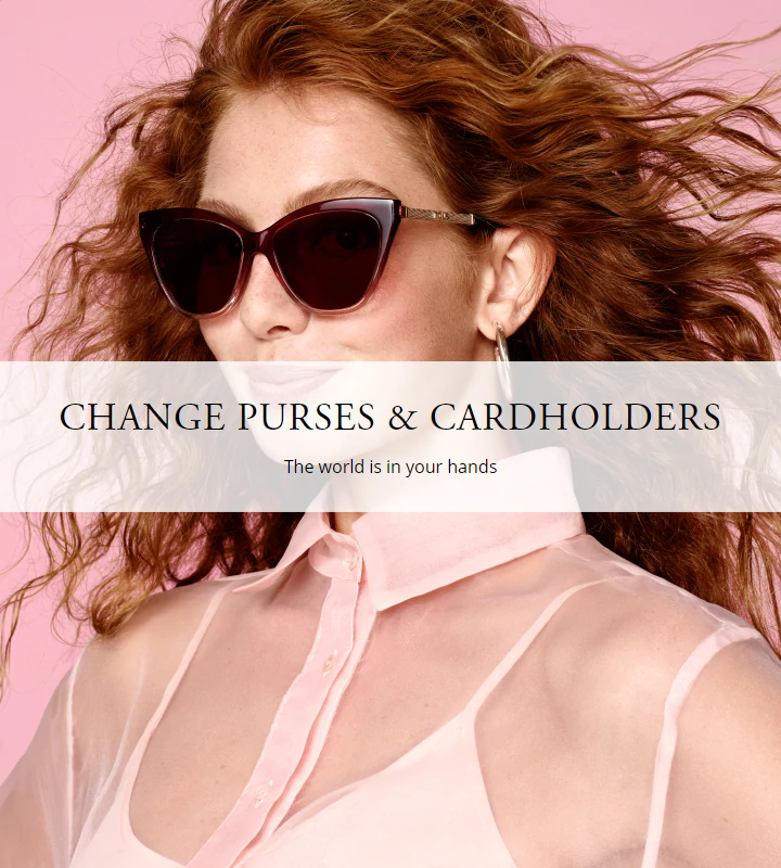 Accessories Leather Goods Change Purses & Cardholders