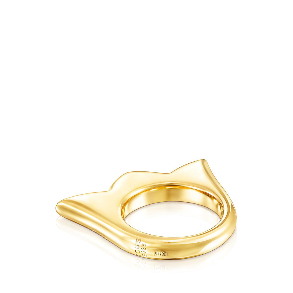 Gold Vermeil New Sweet Dolls Tulip Ring