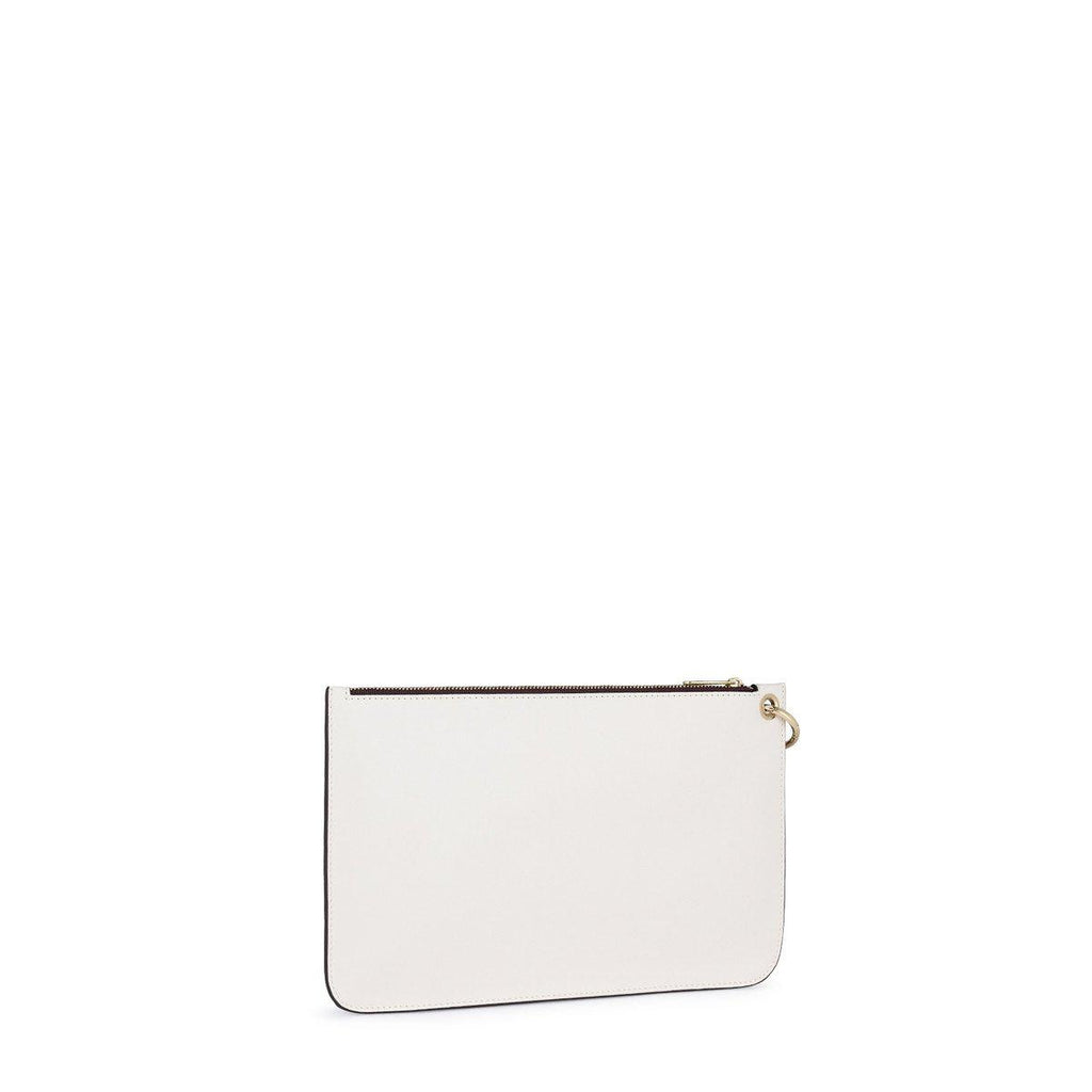 White Hold Clutch bag