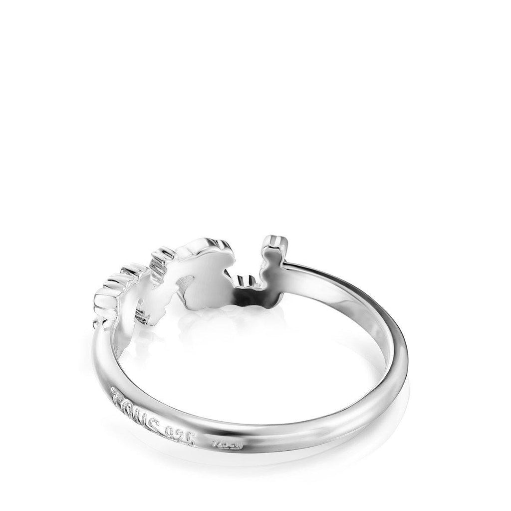 Silver San Valentín love Ring