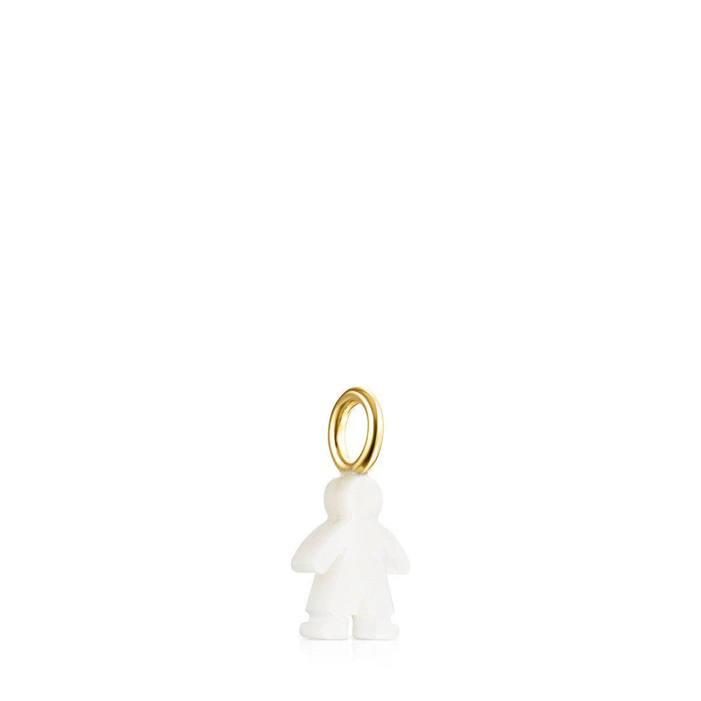 Sweet Dolls Boy Pendant in Gold and Mother-of-Pearl-Default-Tous Canada