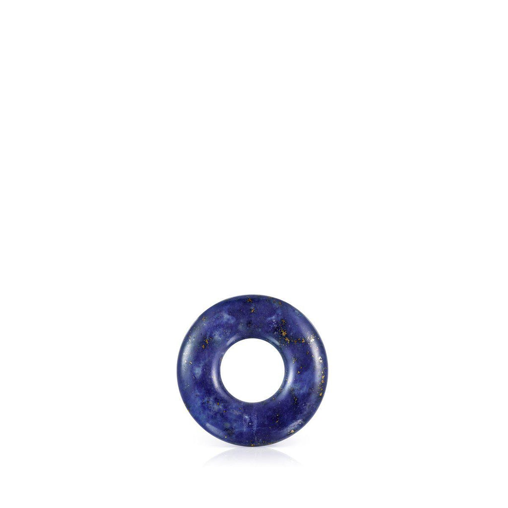 Small Hold Gems Pendant in Ultramarine and Silver-Default-Tous Canada