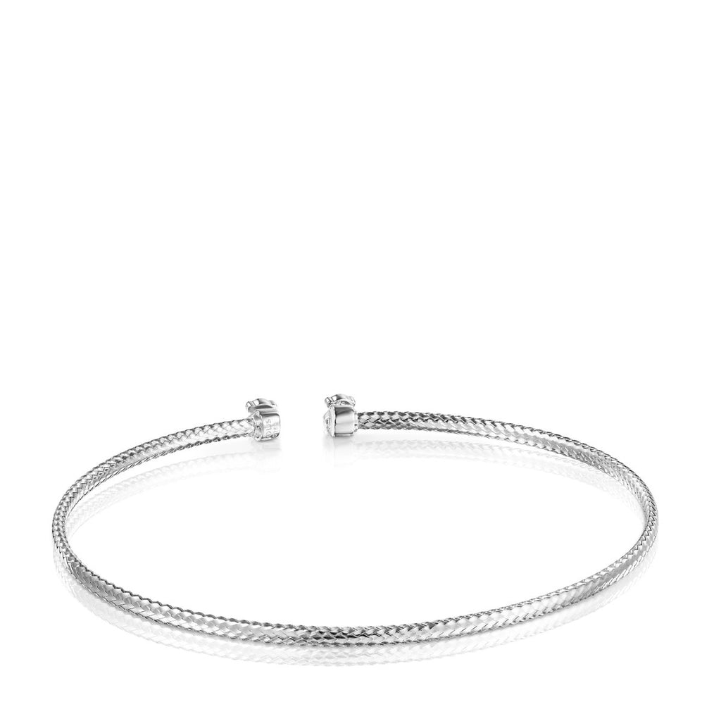Light Bracelet in White Gold with Diamonds