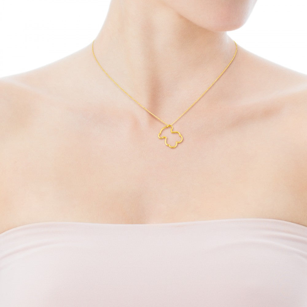 Gold Silueta Necklace