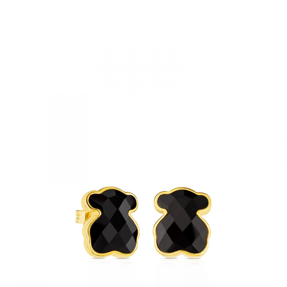 Vermeil Silver TOUS Color Earrings