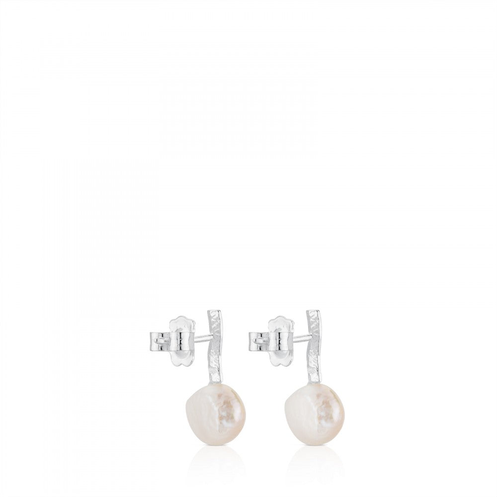 EAR AG STICK 1CM PRL BRQ 9-10MM CTCH