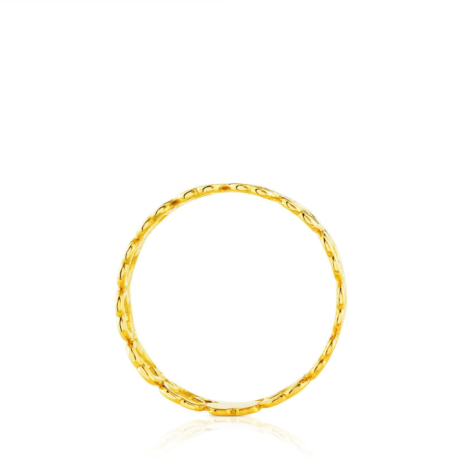 Gold Silueta Ring