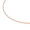 Rose Vermeil Silver TOUS Chain Necklace