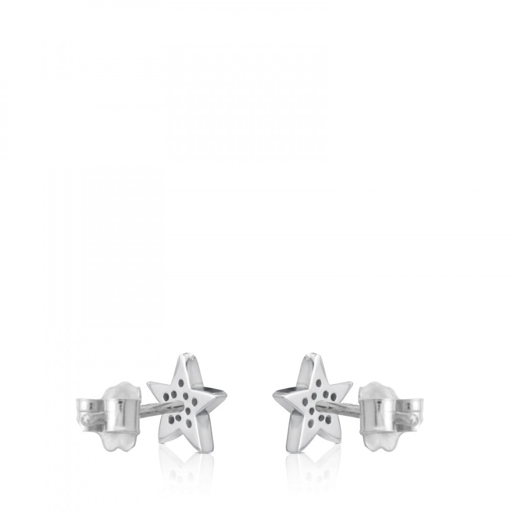 White Gold Sweet Dolls Earrings-Default-Tous Canada
