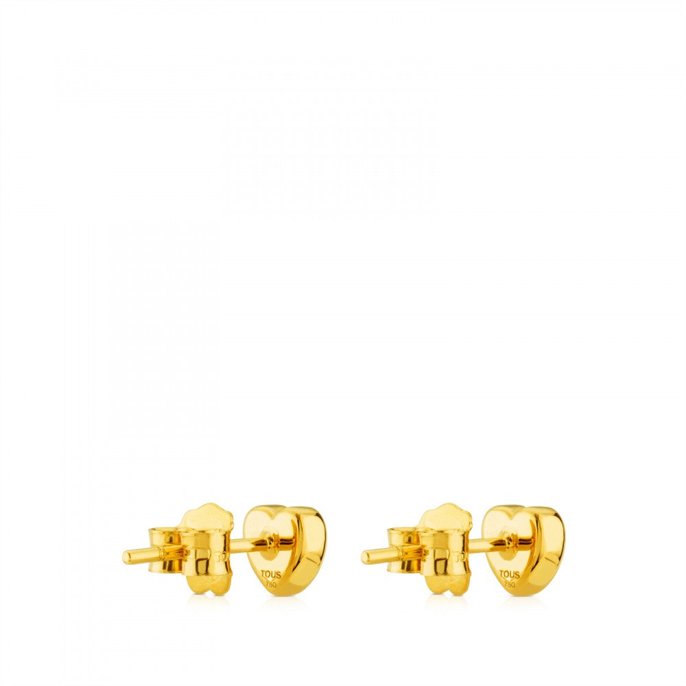 Sweet Dolls XXS Gold Earrings-Earring-Tous Canada
