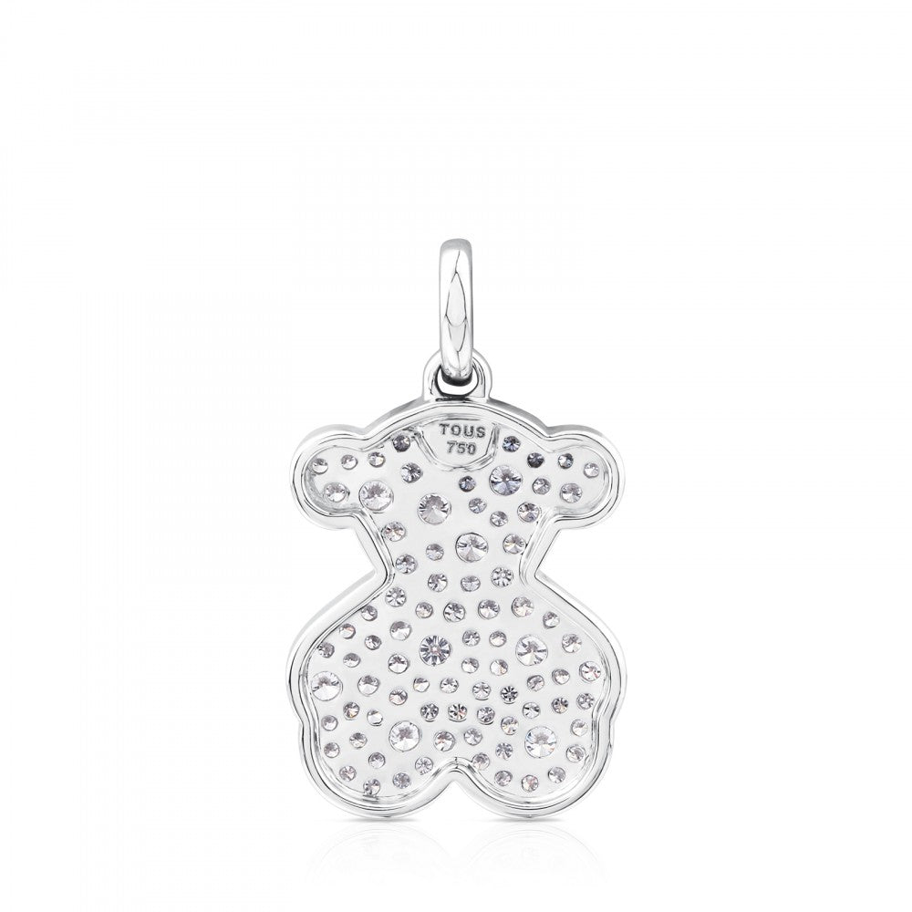 White Gold Icon Gems Pendant with Diamonds
