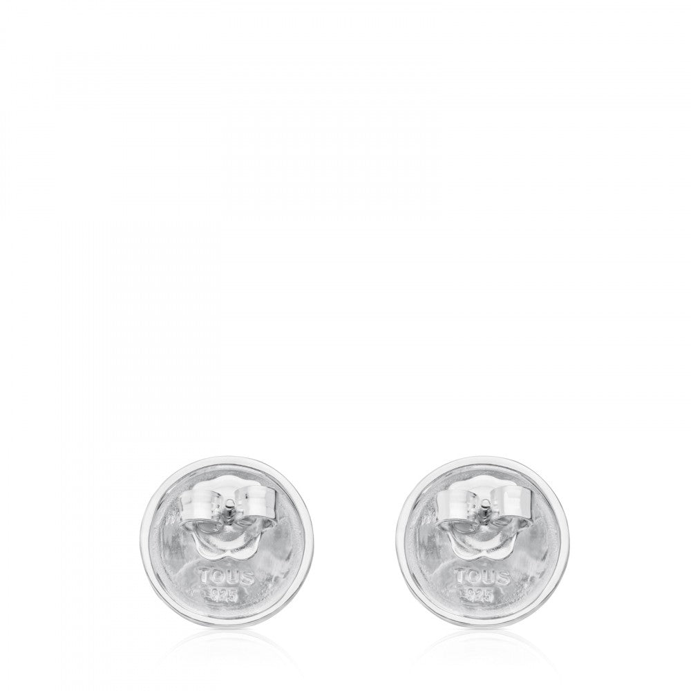 Silver TS Earrings