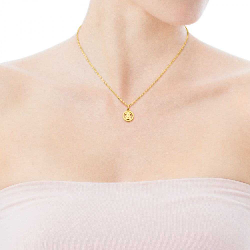 Camille Pendant in Gold