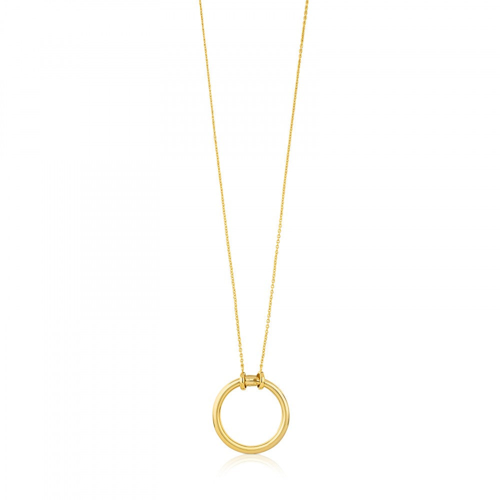 Vermeil Silver Hold Necklace-Default-Tous Canada