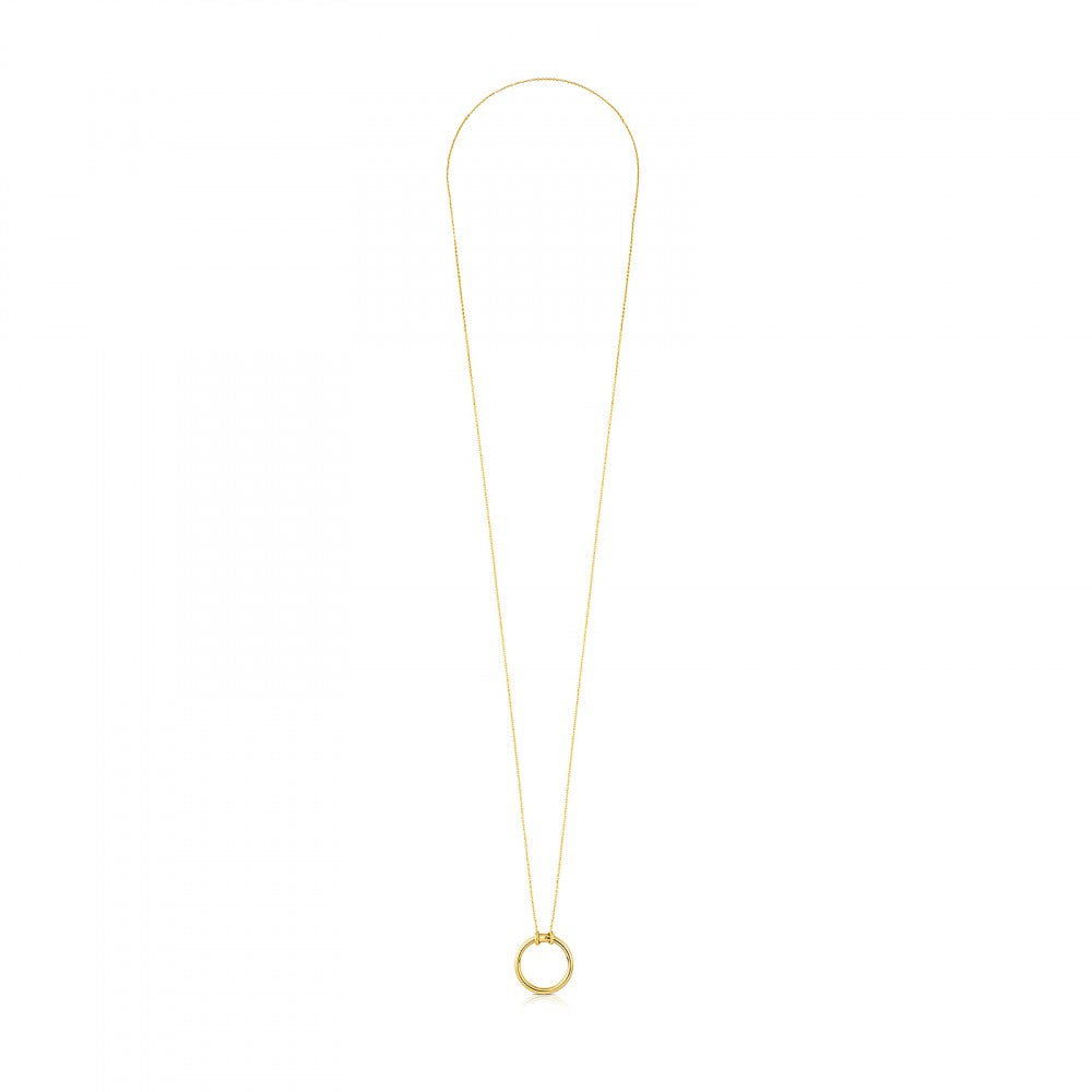 Vermeil Silver Hold Necklace
