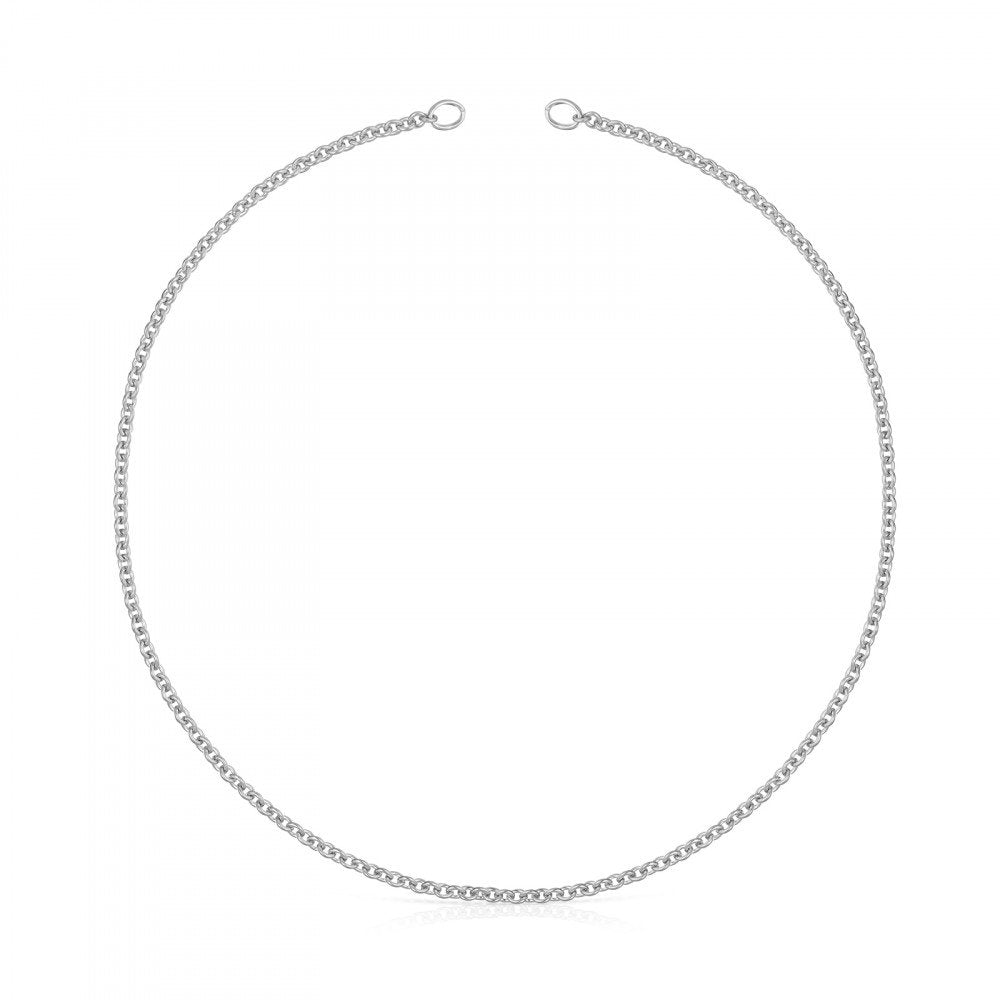 Hold Choker in Silver