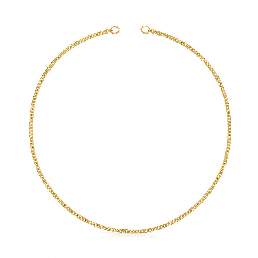 Hold Choker in Gold Vermeil