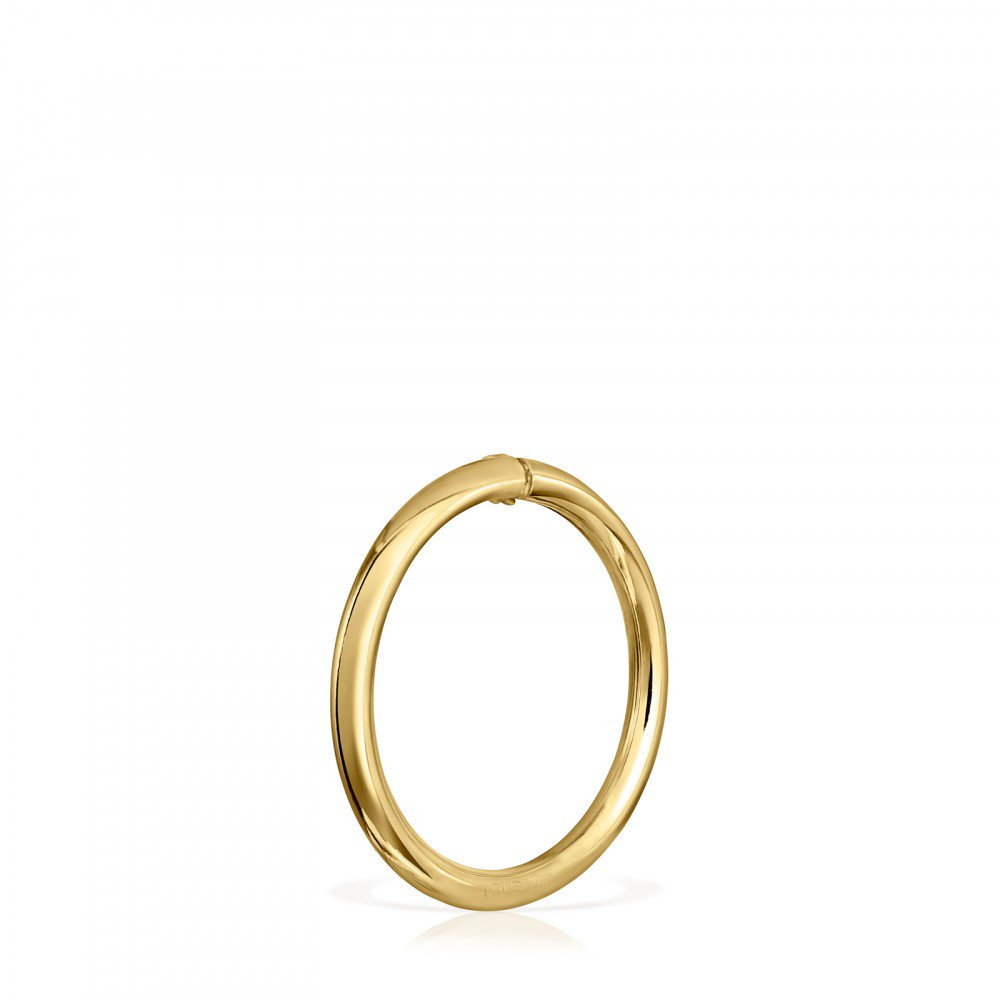 Large Gold Hold Ring-Default-Tous Canada