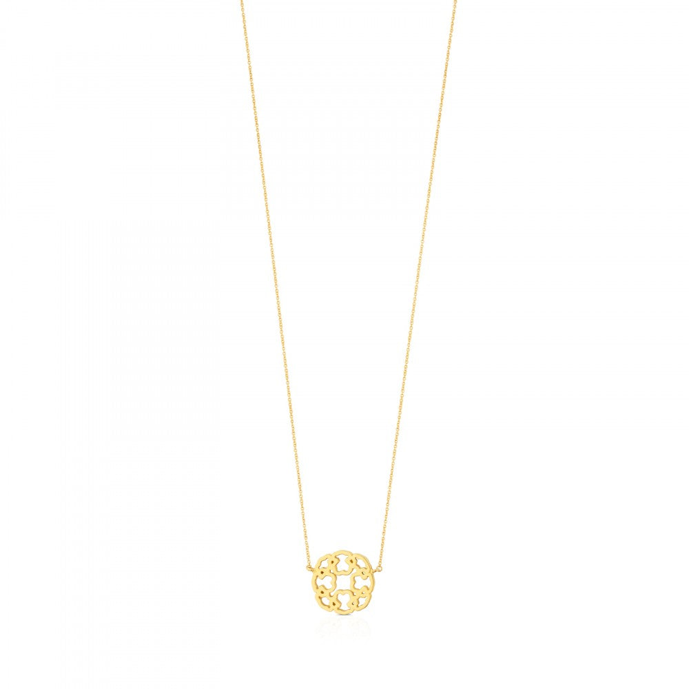 Gold Mossaic Power Necklace