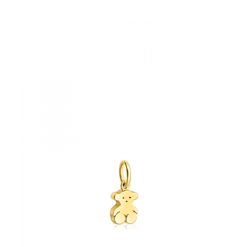 Gold Sweet Dolls bear Pendant