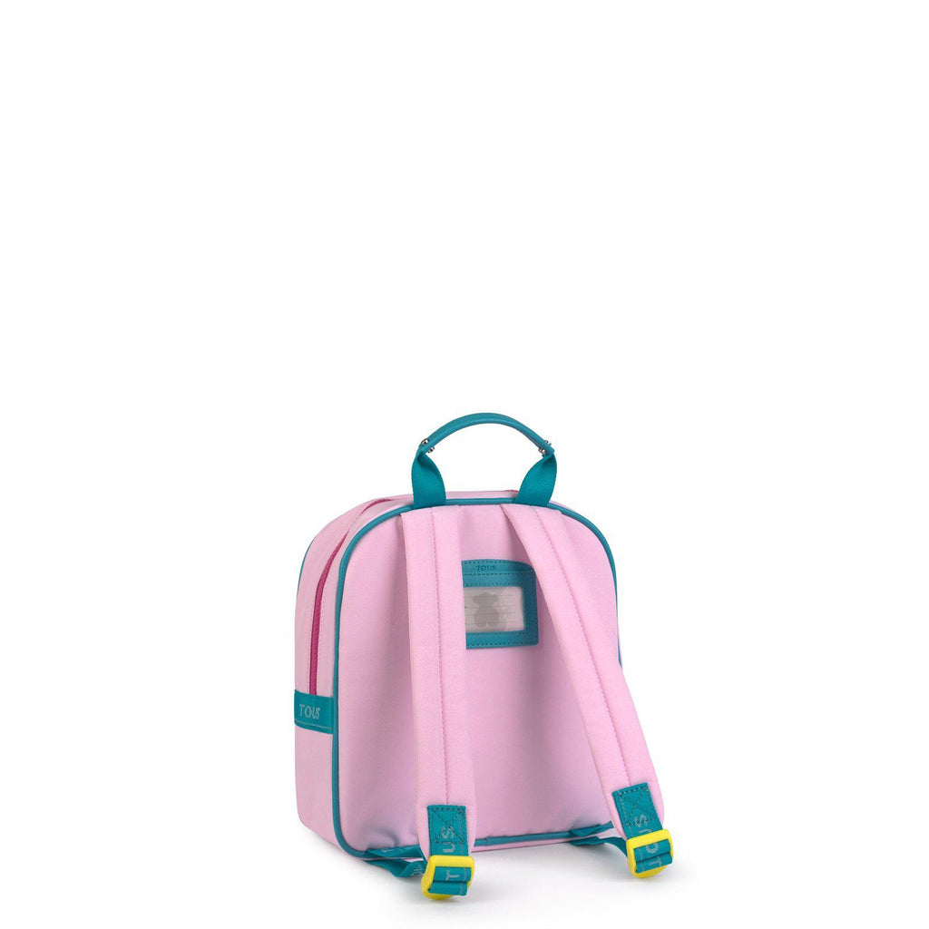 Mini Pink Multicolored School Backpack