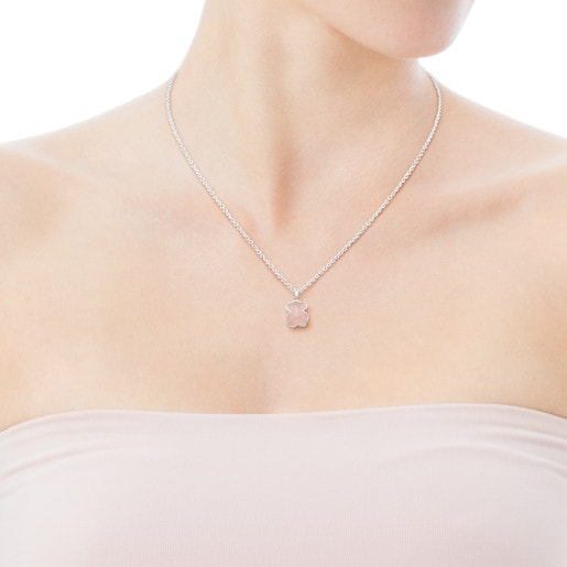 Silver New Color Necklace with Quartzite-Tous Canada